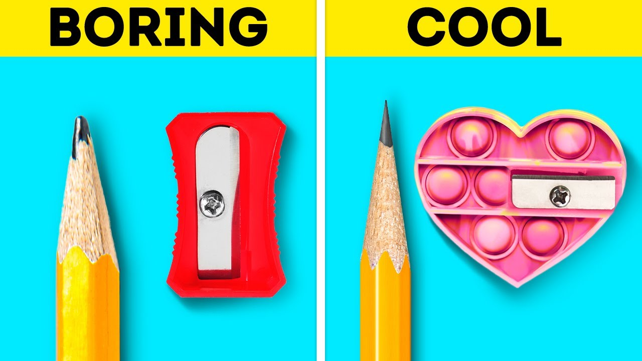 Download Cool School Supplies, Colorful DIY Accessories, Cheap Beauty Tricks And Cheating Hacks
