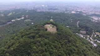 空撮 甲山