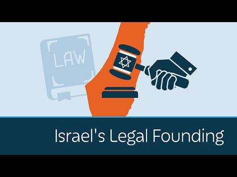 Israel's Legal Founding
