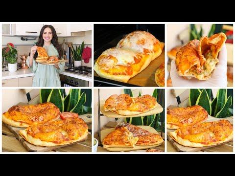 Download الكالزوني أو البيتزا الإيطالية المحشية بالدجاج والجبن🥟بمكونات موجودة في كل بيت فطور خفافي صيافي😋