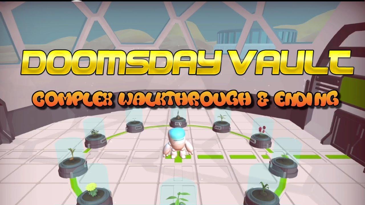 Doomsday Vault Complex Walkthrough And Ending Apple Arcade