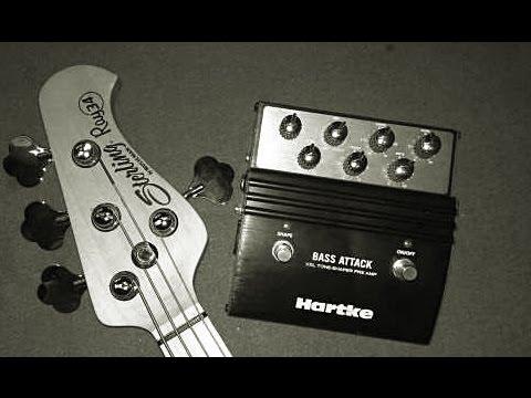 hartke bass attack preamp testing hd youtube. Black Bedroom Furniture Sets. Home Design Ideas