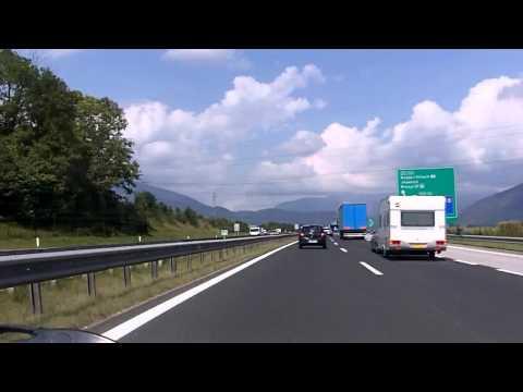Slovenia: A2 Motorway Part 2/2