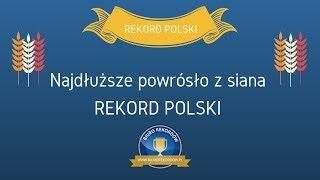 Najdłuższe powrósło z siana - Rekord Polski (2018)