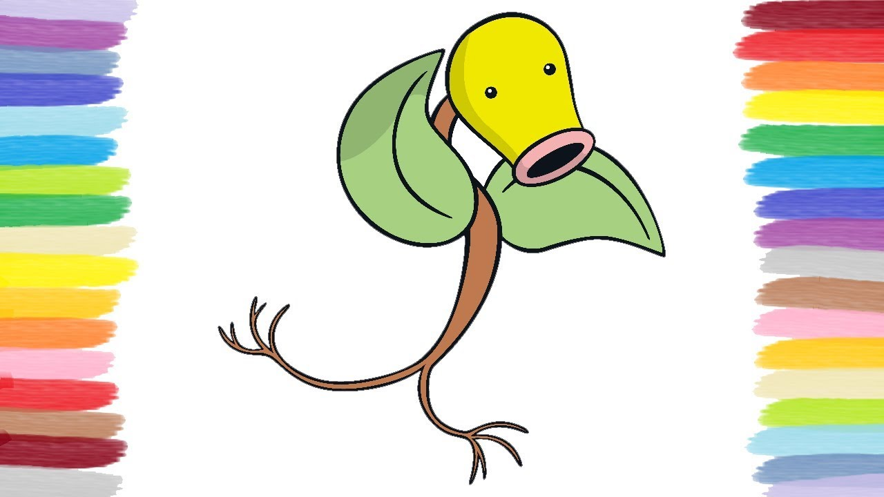 Coloring Bellsprout Pokemon