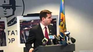 Beau Biden talks about  proposed gun control law changes