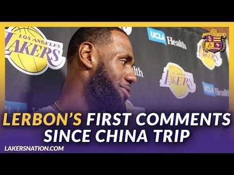 None - LeBron James Speaks On NBA, China Fallout