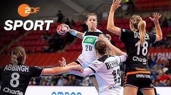 Handball-WM: Deutsche Frauen überraschen gegen Niederlande | ZDFSport - ZDF