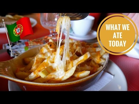 PORTUGAL Food Adventures & Apartment Tour! (Day 1) | Food Diaries: What We Ate Today - Yum It