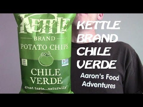 Kettle Brand Chile Verde Chips | Spicochist Reviews