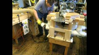 Power Feed Router Table Machine Jig (part 4/4)