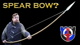 FANTASY RE-ARMED - the medieval LONGBOW: can you use a shield with it or as a melee weapon?