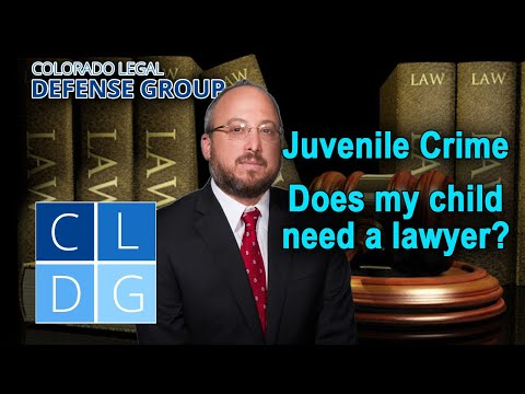 Colorado Juvenile Crime Lawyers – 3 reasons why an attorney is necessary
