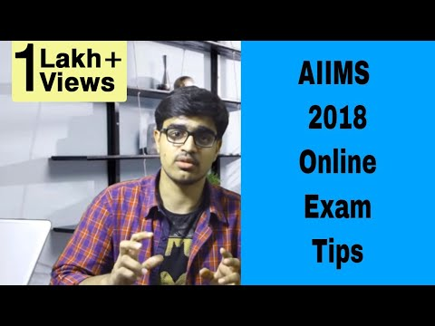 How to get AIIMS  after NEET by Topper in Hindi (AIIMS online exam tips)