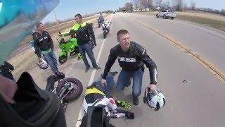 Motorcycle vs. Dog