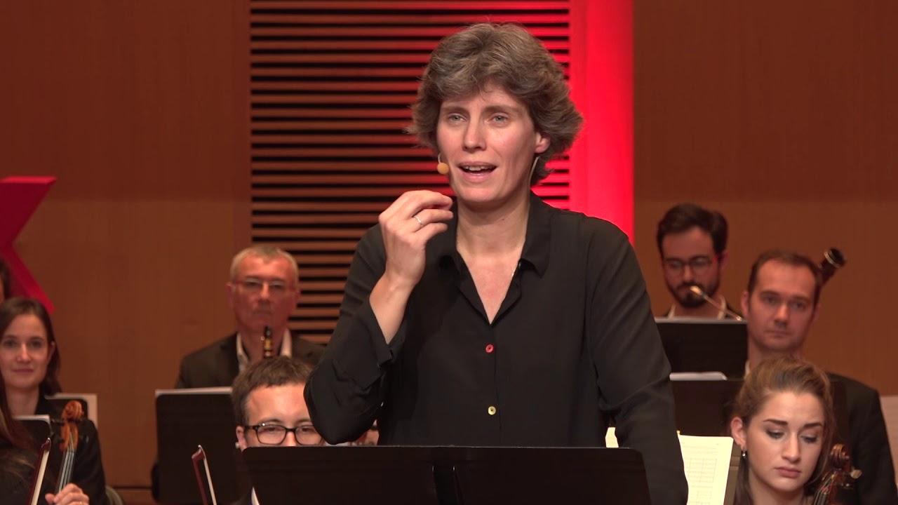 Le courage de prendre le temps | Laëtitia TROUVÉ & ORCHESTRE LES CLÉS D'EUPHONIA | TEDxVincennes