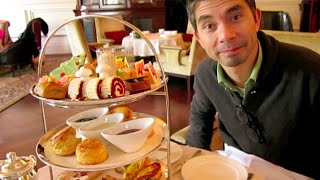 Shanghai Vlog: Afternoon Tea at the Waldorf Astoria!