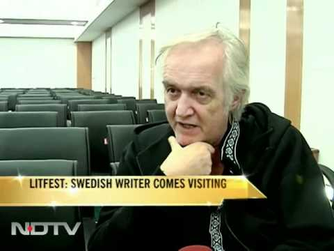 Jaipur Lit-fest: Swedish writer comes visiting
