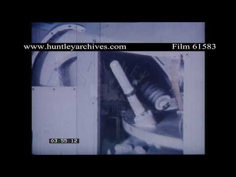 Woman prepares condoms for packaging.  Archive film 61583