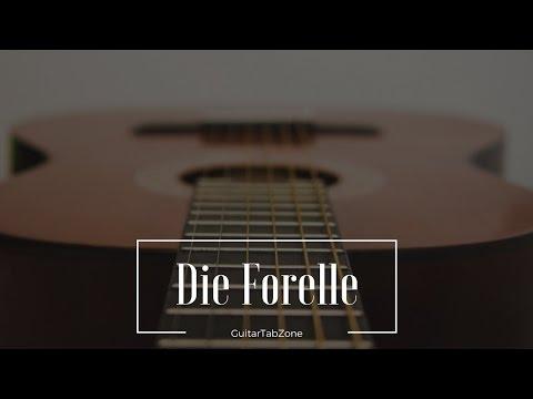 Die Forelle - Schubert Guitar Tab