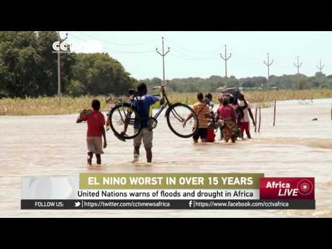 United Nations warns of floods and drought in Africa