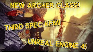 Zapętlaj Blade and Soul - New Archer Class + Unreal Engine 4 Trailer! | Jarke