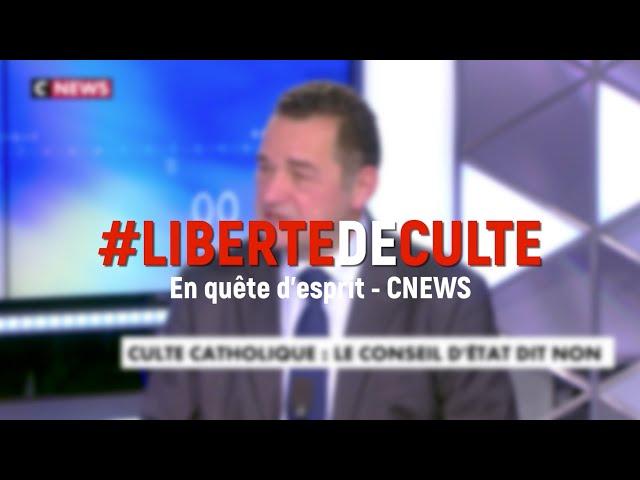 #LibertéDeCulte - JFP dans En Quête d'Esprit sur CNEWS | 8 nov. 2020