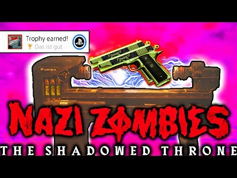 THE SHADOWED THRONE PACK A PUNCH TUTORIAL! FULL PACK A PUNCH EASTER EGG | CALL OF DUTY WW2 ZOMBIES