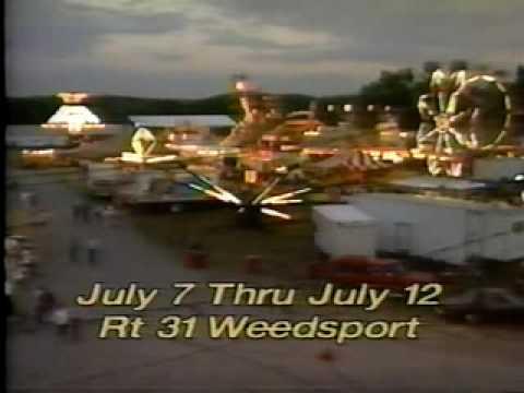 Cayuga County Fair commercial 1992 Weedsport NY