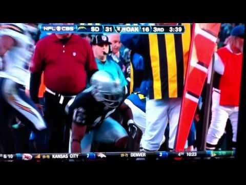 Rich Gannon brutal stutter LIVE on CBS NFL