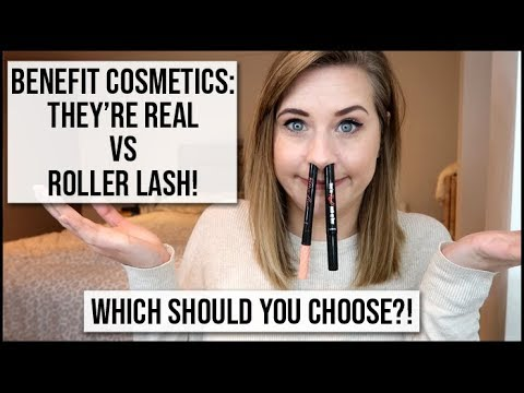 081f20b2cde Benefit NEW Roller Liner VS Benefit They're Real Liner | xameliax ...