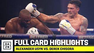 FULL CARD HIGHLIGHTS | Usyk vs. Chisora