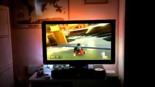 Wii U Mario Kart 8 With Diy Raspberry Pie Ambilight Running In Real Time
