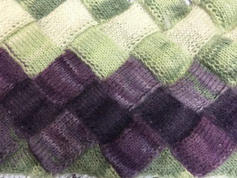 Техника вязания спицами