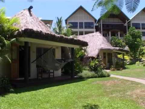 Outrigger on the Lagoon Fiji hotel video