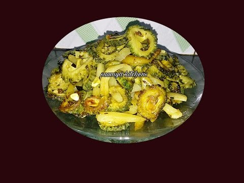 Karela aloo bhujiya recipe karela fry recipe how to make recipe in Hindi