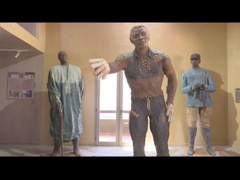 Inside the artist's studio: Ousmane Sow's new museum in Dakar