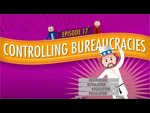 Controlling Bureaucracies: Crash Course Government and Politics #17
