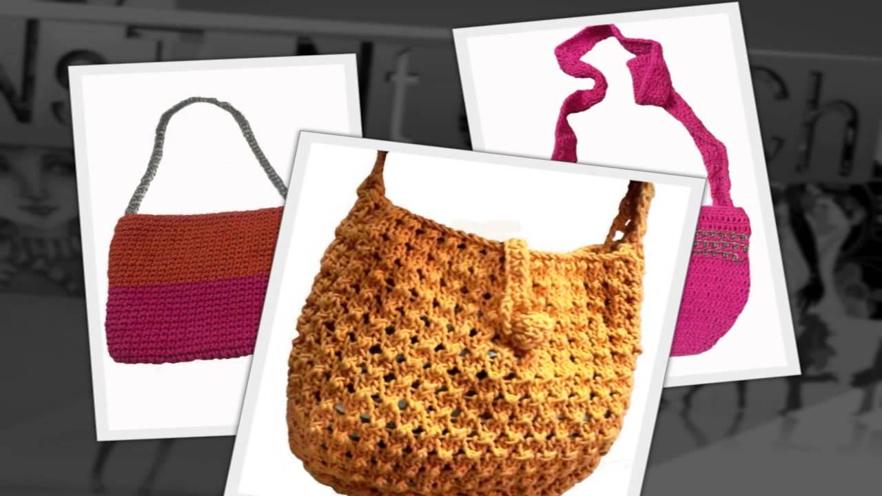 Sling bag crochet - Crochet Bags Instant Crochet