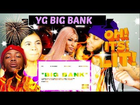 YG - Big Bank (Audio) ft. 2 Chainz, Big Sean, Nicki Minaj REACTION