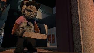 "NAUGHTY BEAR: PANIC IN PARADISE- The Texas Chain Saw Massacre Costume"""