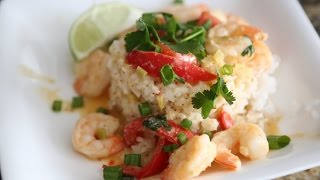 Thai Red Curry Shrimp!