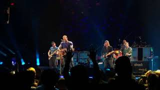 Coldplay performing Free Fallin' - Tribute to Tom Petty (Portland, 2 October)