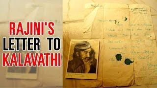 KABALI Rajini's letter to a SPECIAL FAN