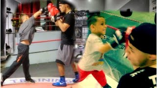DAMIAN & DEION TRY BOXING!🥊