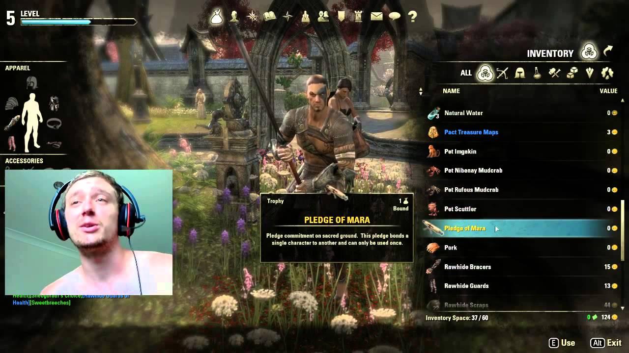 Cowamatic - Elder Scrolls Online - How to use Pledge of mara