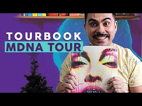Tourbook da MDNA TOUR Unboxing