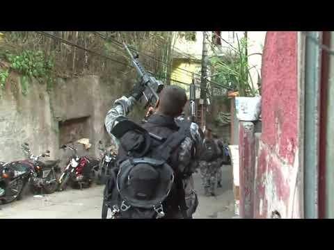 Bac apreendem drogas na Rocinha