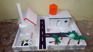 Science Project for Kids || Thermocol house || Science Project (School project)