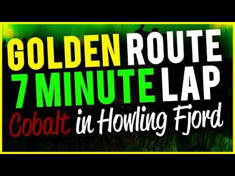Golden Route Farming Cobalt Ore In Howling Fiord Fast Respawning Nodes